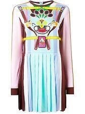 adidas Women's Pleated Dress multi-coloured multicolored Mary Katrantzou Size L