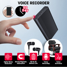 More details for hidden voice recorder mini sound audio digital dictaphone 60-day long standby