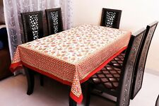 Indian Table Cover Flower Printed Cotton Beautiful Top Cover Handmade Home Decor
