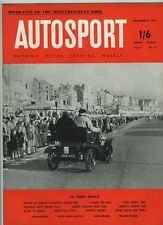 Autosport November 11th 1955 *Mercedes 190SL Test & Venezuelan Grand Prix*