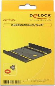 """Festplatte Einbaurahmen 2,5"""" auf 3,5"""" Delock, für SSD / HDD"""