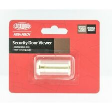 Lockwood 160° Polished Brass Door Viewer