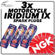 3x NGK Iridium IX Spark Plugs for TRIUMPH 955cc Daytona 955i (10mm) 01- 06 #3521