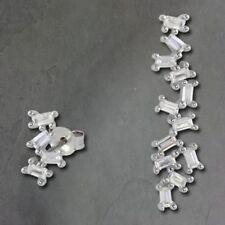 Orecchini di lusso con gemme pendenti in argento