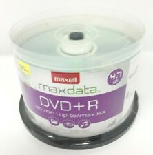 Maxell DVD+R Discs 4.7GB 16x Spindle Silver 50/Pack 639013