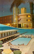 1967 Golden Sands Motor Hotel Motel - Miami Beach, Florida Postcard