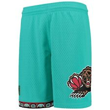 Mitchell & Ness 96- 97 Road Vancouver Grizzlies Teal NBA Men's Swingman Shorts