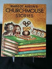 Vintage Margot Austin's Churchmouse Stories HC *1956 – Weekly Reader