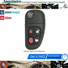 Jaguar XJ X -Type S-Type XJ XK 4 Buttons Complete Flip Remote Key C2C35284 NEW !