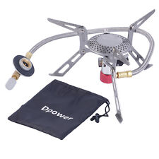 Dpower Mini Portable Folding Camping Gas-powered Stove with Piezo Ignition BX