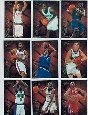 1995-96 FLAIR BASKETBALL CLASS OF '95 15-CARD INSERT SET ALL RC'S GARNETT STACK