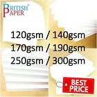 A2 A3 A4 A5 A6 WHITE CARD THICK PAPER CARDBOARD PRINTER COPIER SHEETS GSM CRAFTS <br/> ⭐ BEST PRICE ON EBAY GUARANTEED ⭐ ALL SIZES ⭐ UK STOCK⭐