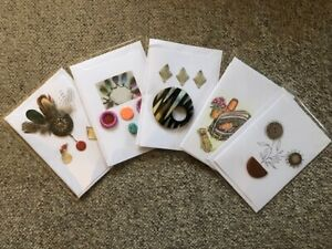 Set of 5 hand made Charity Gift Cards for all occasions