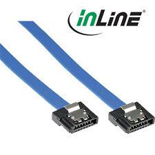 InLine SATA 6Gb/s Anschlusskabel klein, mit Sicherheitslasche, 30cm