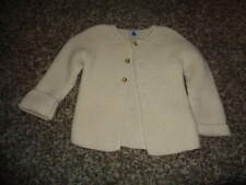 PETIT BATEAU 18M/81CM 18 MONTHS CREAM CABLE KNIT SWEATER