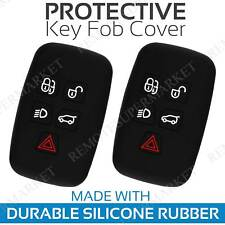 2 Key Fob Cover for 2011-2018 Land Rover Range Rover Remote Case Skin Jacket