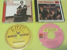 The Shadows The Original & Roy Orbison The Essential Sun Years 2 CD Albums Rock