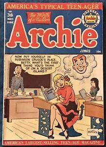 Archie Comics #38  May 1949