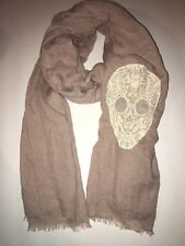 The Perfectly Adjusted Scarf Fashion Scarf Boho Style Lace Skull New with Tags