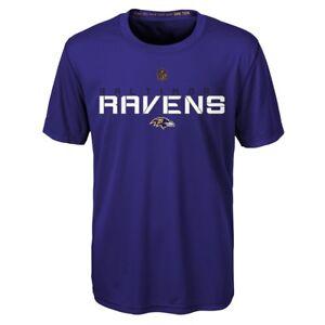 "Baltimore Ravens Outerstuff NFL Boys Purple ""Maximal"" Dri-Tek T-Shirt"