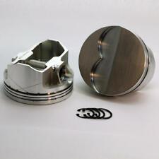 "DSS Piston Set 2-6130-4180; 4.180"" Bore -7cc Flat Top for Pontiac 455 Stroker"