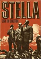 New: STELLA - Live in Boston DVD