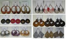 A-11 Wholesale Jewelry lot 5 pairs Mixed Style Winter Fashion Earrings #A22