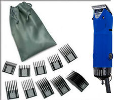 Oster Turbo A5 2-Speed Velvet Blue Limited Dog Animal Pro Clipper+10 Pc Comb New