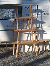 Vorbank aus altem Holz Hausbank Melkschemel Bauernmöbel Sitzbank Landhaus 120cm3