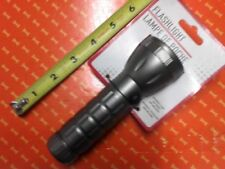 GRAY COLOUR FLASH LIGHT BODY5 1/4''( L)(FREE NEW 3 AAA BATTERIES)(ALL WHITEBULE)