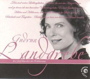 Gudrun Landgrebe liest Klassiker der Weltliteratur 10 CD neu, OVP Hörbuch