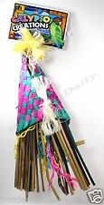PET BIRD TROPICAL TEASERS STRAW ROPE TOY FUN ACTIVITY FOR CAGE SMALL-MEDIUM