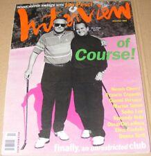 Andy Warhol's Interview magazine November 1992 Dennis Hopper Joe Pesci Versace