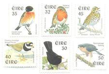 Ireland Birds set of 6 - Phosphor issue perf 14 mnh