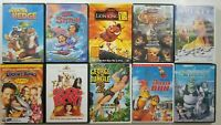 Childrens DVD Lot of 10 Titles SEE DESCRIPTION FOR TITLES