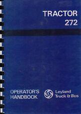 Leyland 272 Tractor Operator Handbook Manual Instructions Book