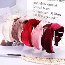 Fashion Women Wide Headband Twist Bow Knot Cross Hairband Hair Band Accessories