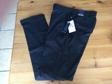PENGUIN slim fit stretch trousers BRAND NEW 32/34 black
