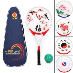 Chinese Tai Chi Rouli Ball Racket Martial Arts Kung Fu Fitness Training Tool New