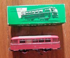 VTG MARKLIN TRAIN–RAILBUS TRAILER–MODEL 4018–ORIGINAL BOX–WESTERN GERMANY–1950s