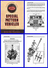 Ford Blitz (CMP) Truck Manual on CD - F8,F15,F15A,F30,F60 etc