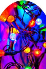 20 water slide nail art decals Christmas lights full nail 4 sizes Trending