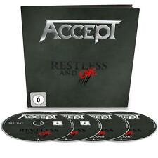 ACCEPT Restless and Live earbook 2cds blu ray dvd ear book box set u.d.o. IN STO