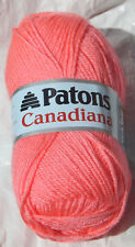 Canadiana Yarn in Bubble Gum (Pink) - NIP, Worsted Wt. & From a Smoke Free Home