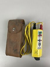 Ideal 61 073 Voltage Tester With Leather Case Untested Sold As Is