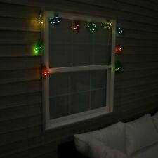 Sunnydaze Solar Led Outdoor Multicolor Light Bulbs Fairy String Light - 16'