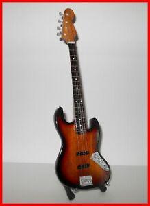 JACO PASTORIUS - GUITARE BASSE MINIATURE ! Collection JAZZ Fender rock Electric