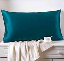 Soft Mulberry Silk Pillowcase Satin Pillow Cases Cushion Covers Home Decor 2 Pcs
