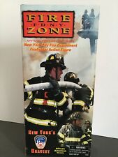 OFFICIAL FDNY COLLECTIBLE FIRE ZONE AFRICAN AMERICAN VERSION ACTION FIGURE NRFB