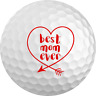 "Mother's Day Gift ""Best Mom Ever"" Golf Ball 3 Pack"